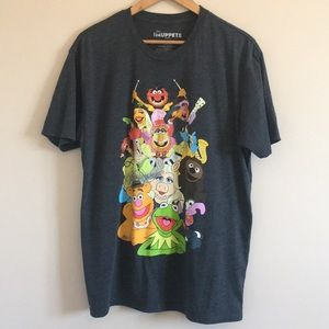 Disney Muppets Characters Graphic Tee size XL